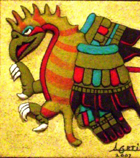 aguila real códices mexicanos cultura azteca alfonso ortiz y juárez