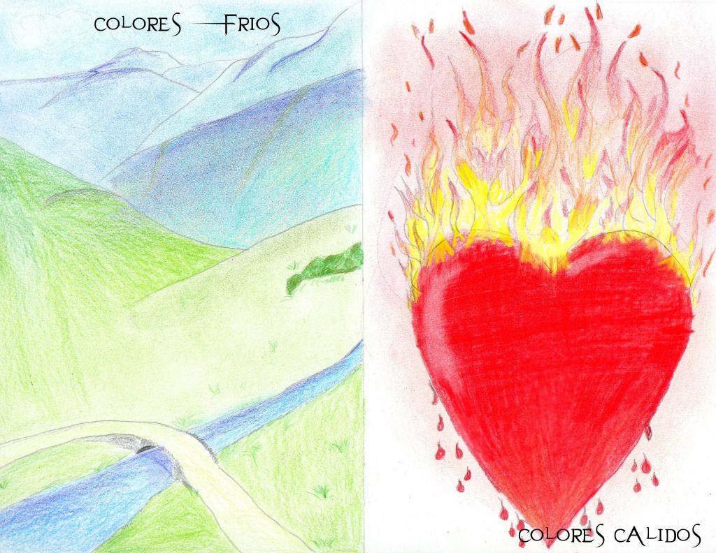 Colores Fríos Y Cálidos Brian Condorí Artelistacom