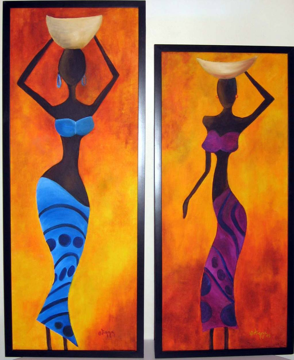 Colectoras africanas Elida Ortigoza - Artelista.
