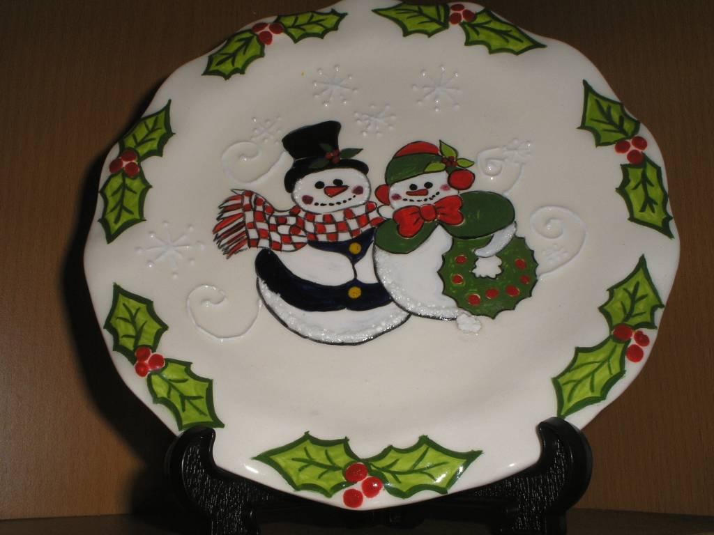 plato de navidad yolanda rita ibarra riquelme