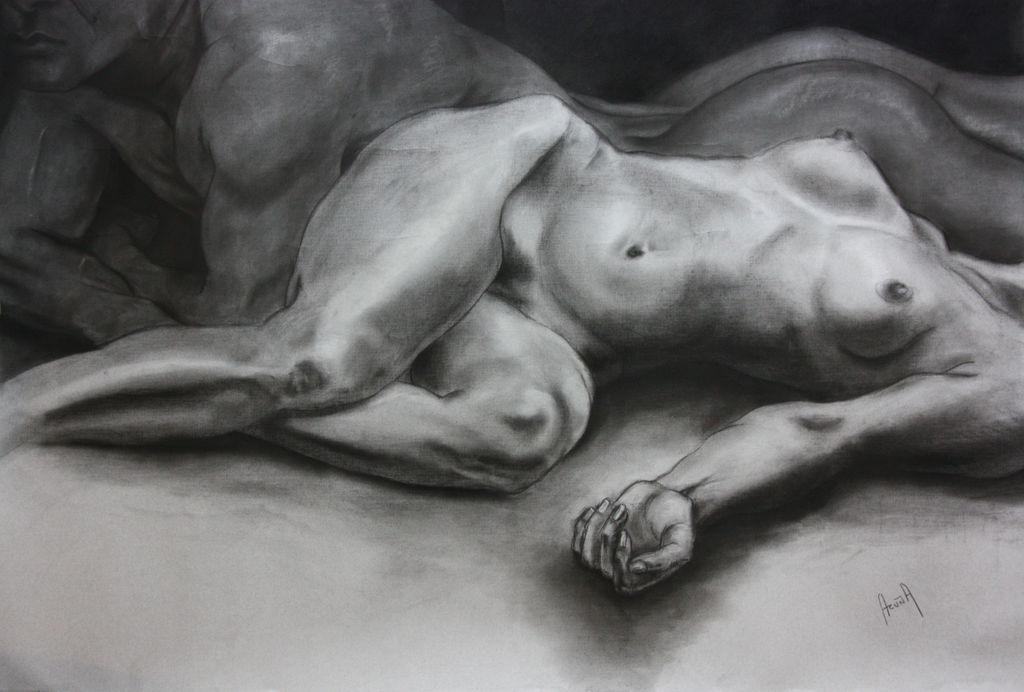Desnudo femenino por los maestros de