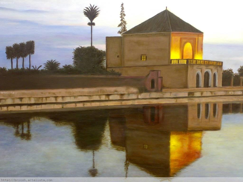 Jardin La Menara Marrakech Benito Rico Hidalgo Artelista Com