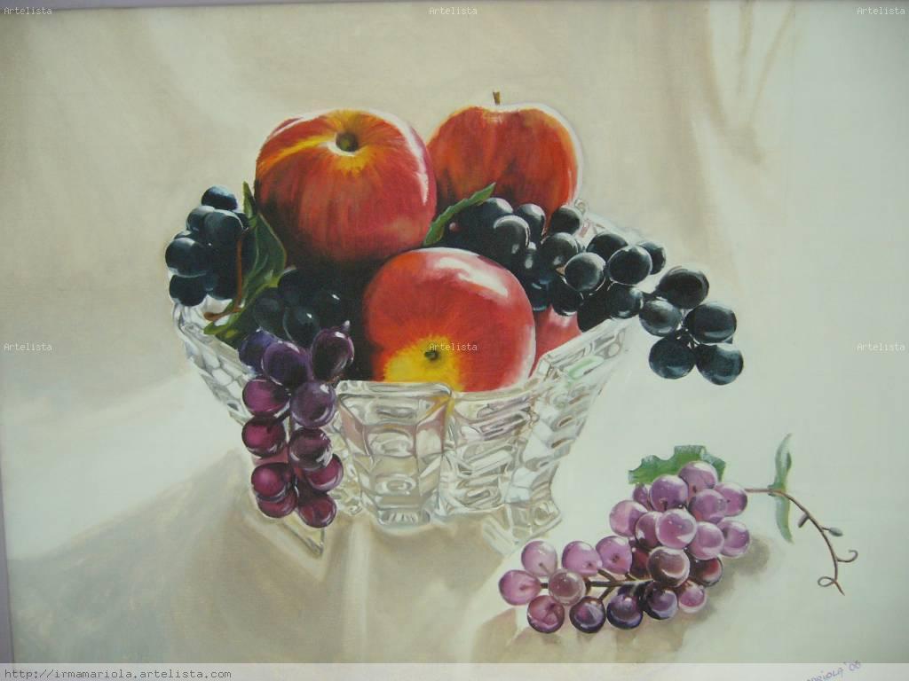 Cristal y Frutas Irma Luisa Mariola Artelistacom