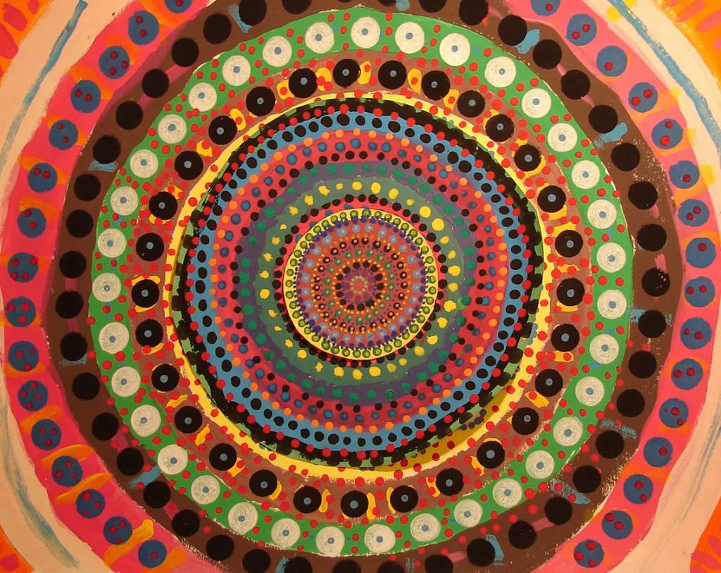 Mandala miguel tom s garc a - Cuadros mandalas ...