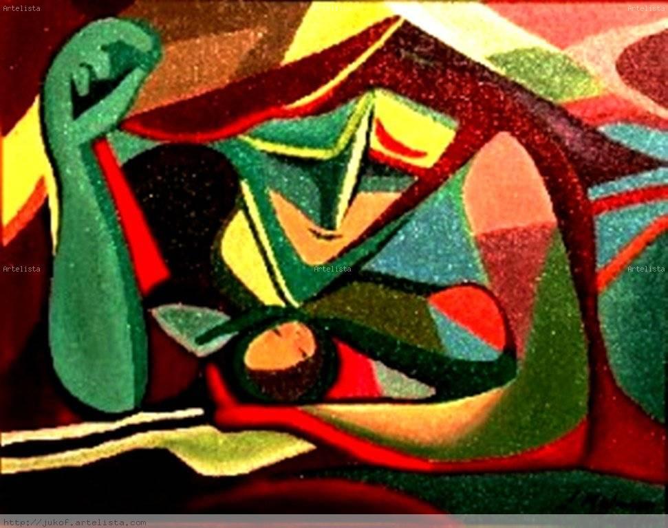 MaternidadRecreación de una obra de Alfredo Zalce juana kofman ...
