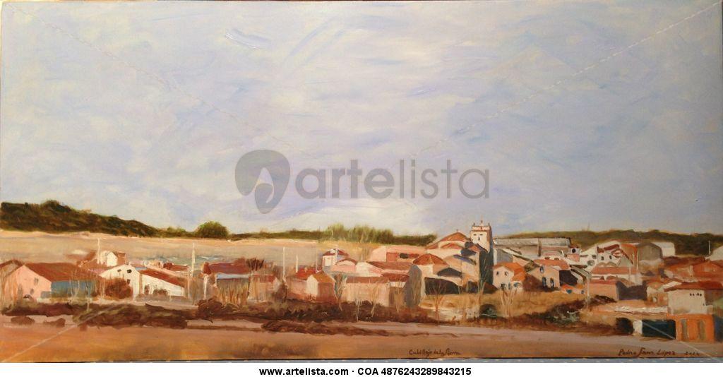 Cubillejo de la Sierra, panorámica,ciudades,pueblos,sierra,cuadros ...