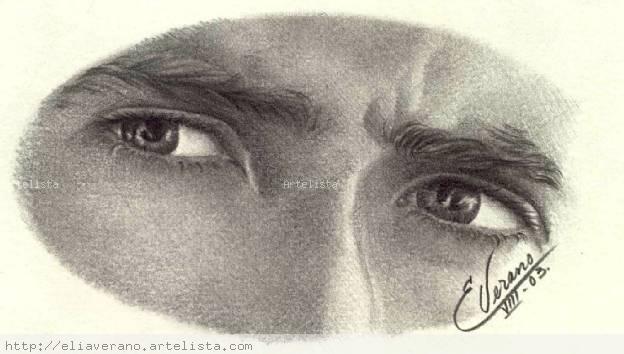 Ojos Nicholas Cage Elia Verano Artelistacom