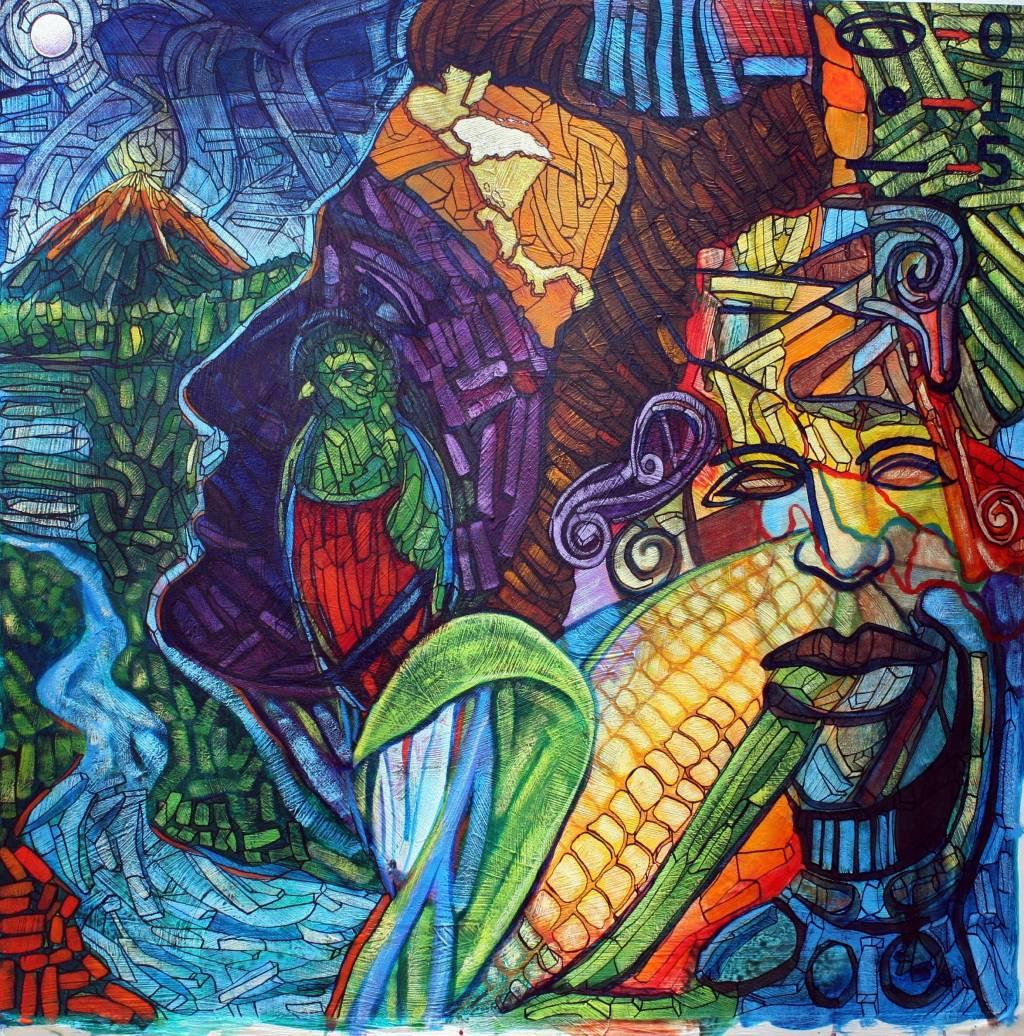 Galeria Pinturas De Arte: El Siniestro Canto Del Kakuy (leyenda Quechua)