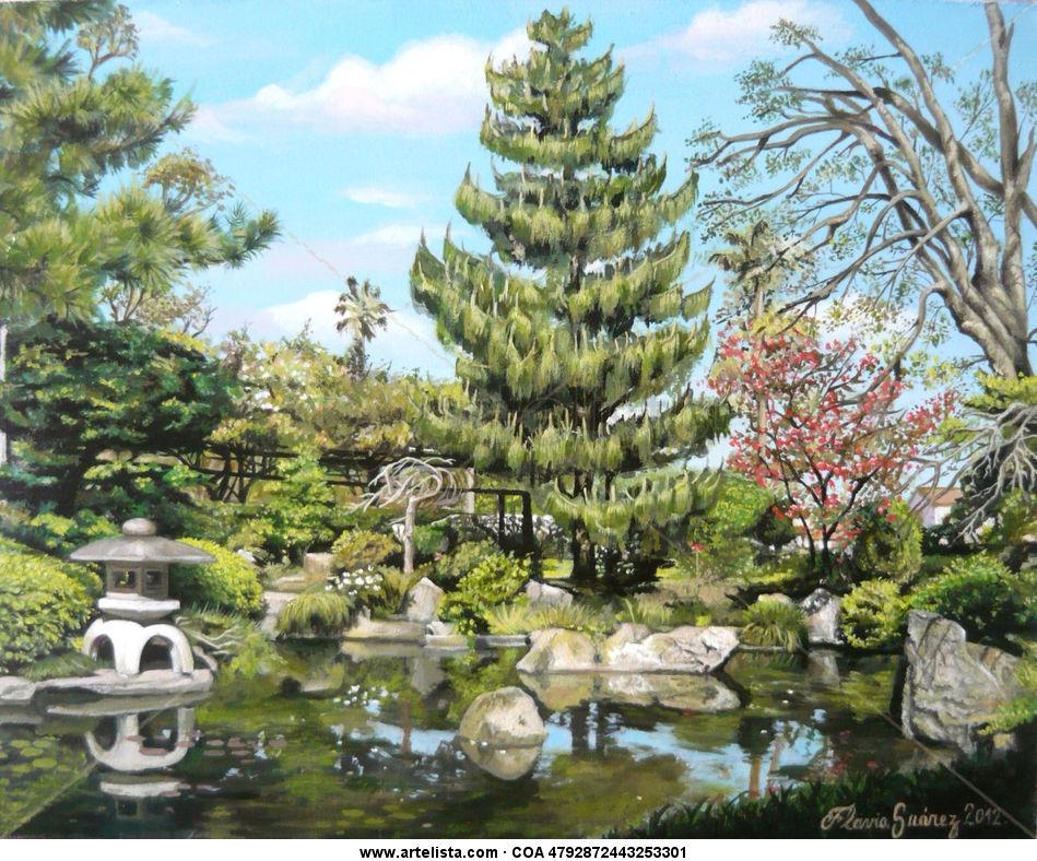 Jard n japon s flavia su rez for Jardin japones cursos