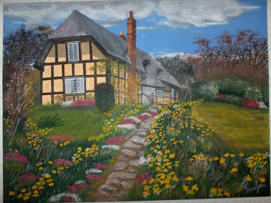 Casa de campo francisco fernandez castellanos - Cuadros para pintar en casa ...