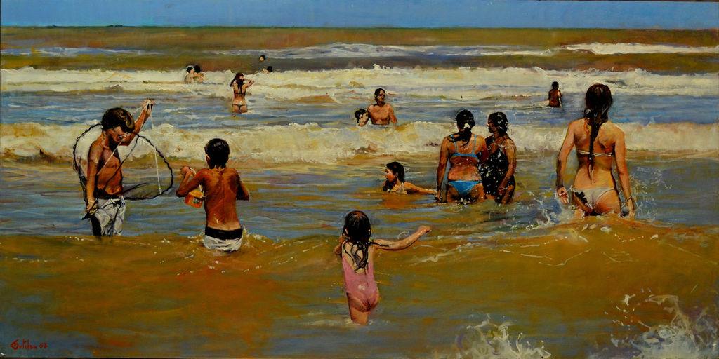 En la Playa Marco Ortolan - Artelista.com