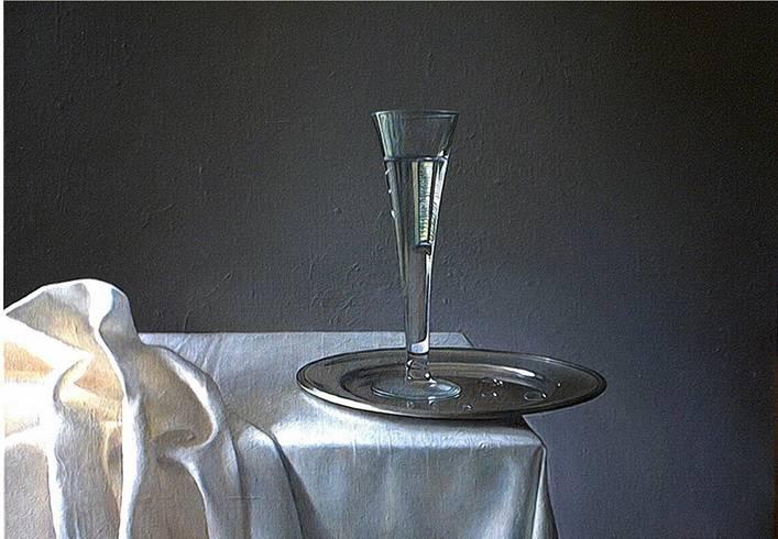 A glass of water Oleg Nourpeissov - Artelista.com - en