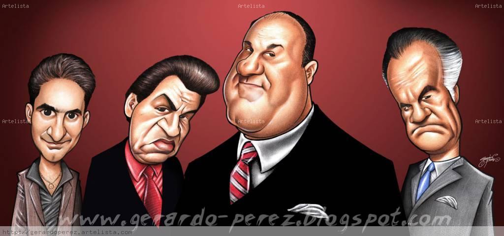 Los Soprano Gerardo Perez - Artelista.com