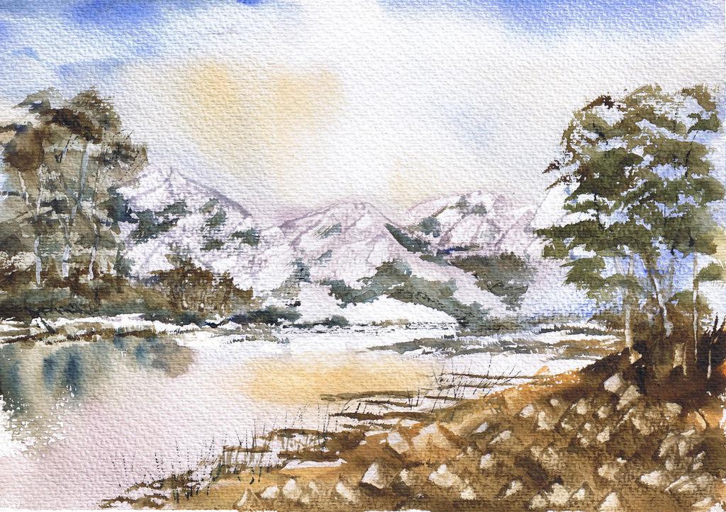 Wallpapers Montañas Nevadas: Montañas Nevadas Javier Martinez De Aguirre