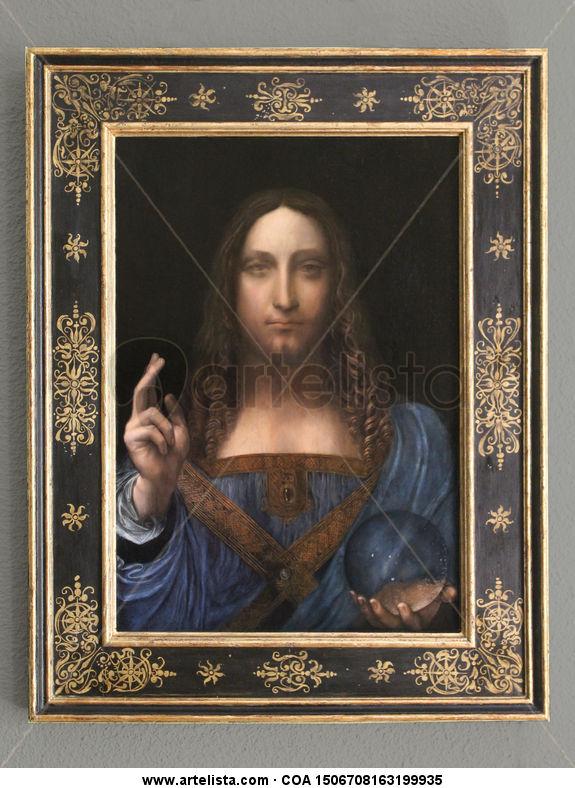 SALVATOR MUNDI de Leonardo da Vinci MANUEL GRANAI LUNA - Artelista com