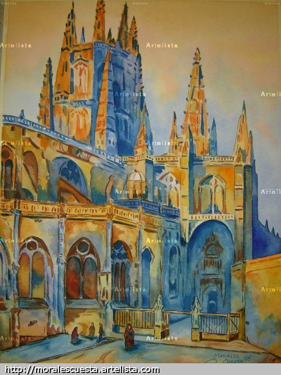 Catedral de Burgos José Ángel Morales Cuesta - Artelista.com