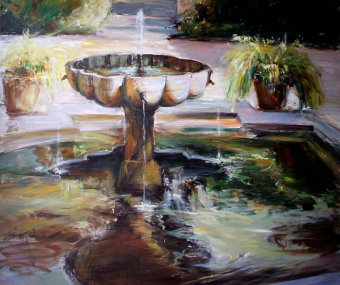 Fuente del alc zar de sevilla trinidad fern ndez for Todo pintura sevilla