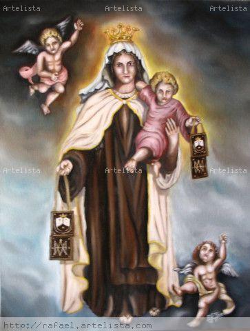 5198806a7bf Virgen del Carmen RAFAEL FERNANDEZ JAEN - Artelista.com