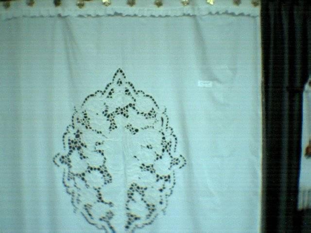Cortinas De Baño Bordadas:cortina calada para baño monica luarisaristi – Artelistacom
