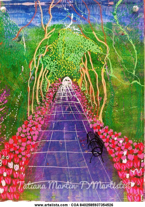 Mon jardin fantastique tym trazolibre for Jardin fantastique