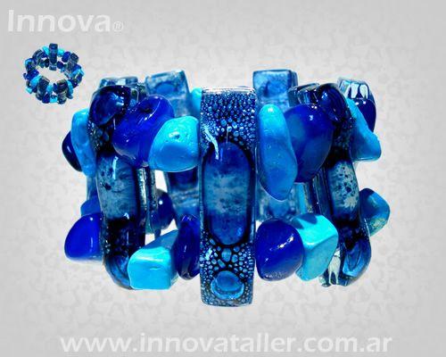b8648aca88af Bisuteria artesanal de vitrofusion Innova joyas Bijouterie de vidrio ...