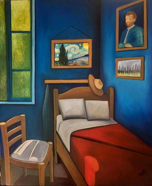 El cuarto de van gogh Susana Soto Poblette - Artelista.com