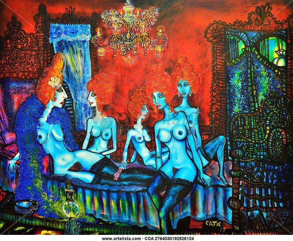 Hector cata original art jorge araujo for Original artwork for sale online