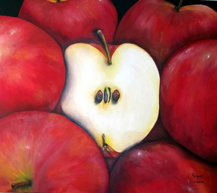 Manzanas Rosa Alicia Jiménez Rodríguez - Artelista.com