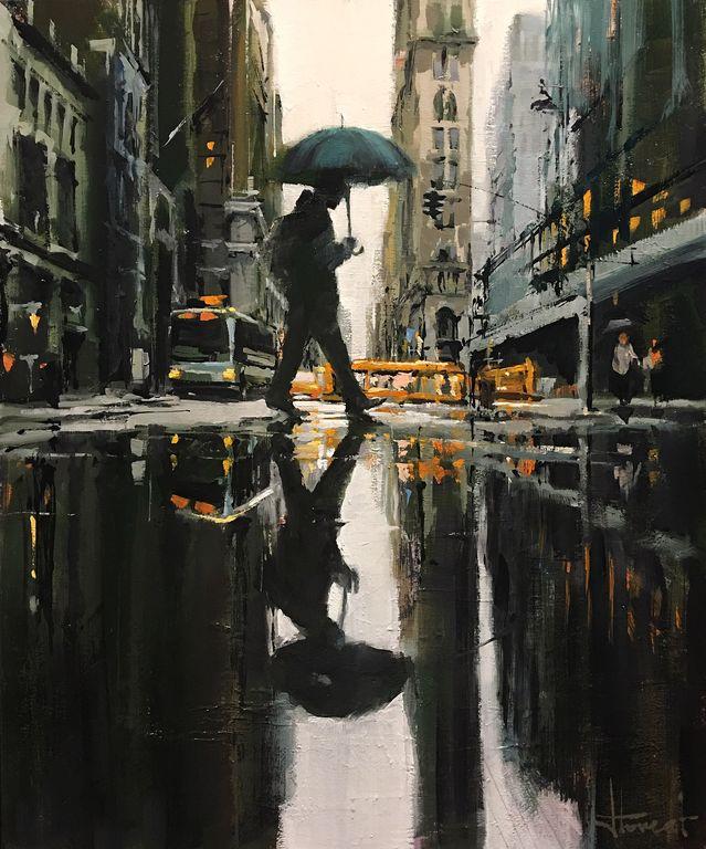 lluvia en ny