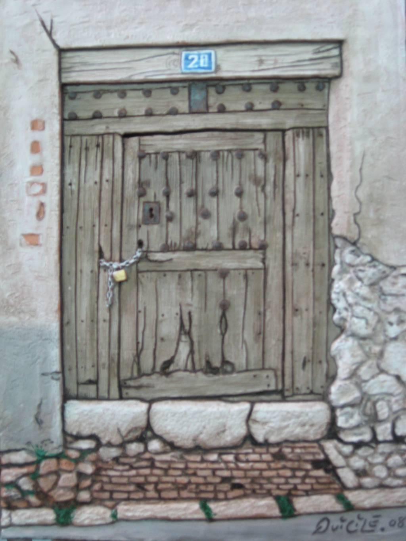Las viejas puertas angel luis sim n palacios for Puertas viejas