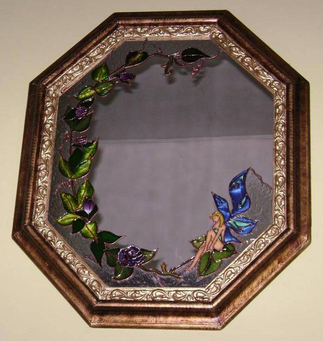 Hada mariposa omar eduardo torres florez - Pintura para espejos ...