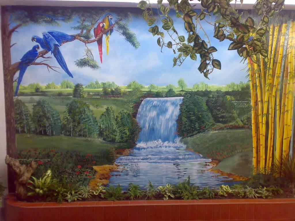 Paisaje sabanero khastulo choperena for Jardines murales