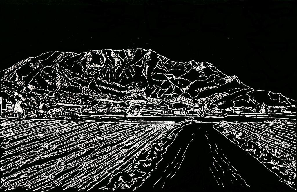 Miradas en blanco y negro de redovan y su sierra manuel cartagena martinez - Pintores en cartagena ...