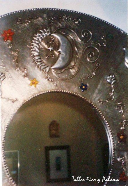 Como hacer espejos redondos decorativos images for Espejos redondos decorativos