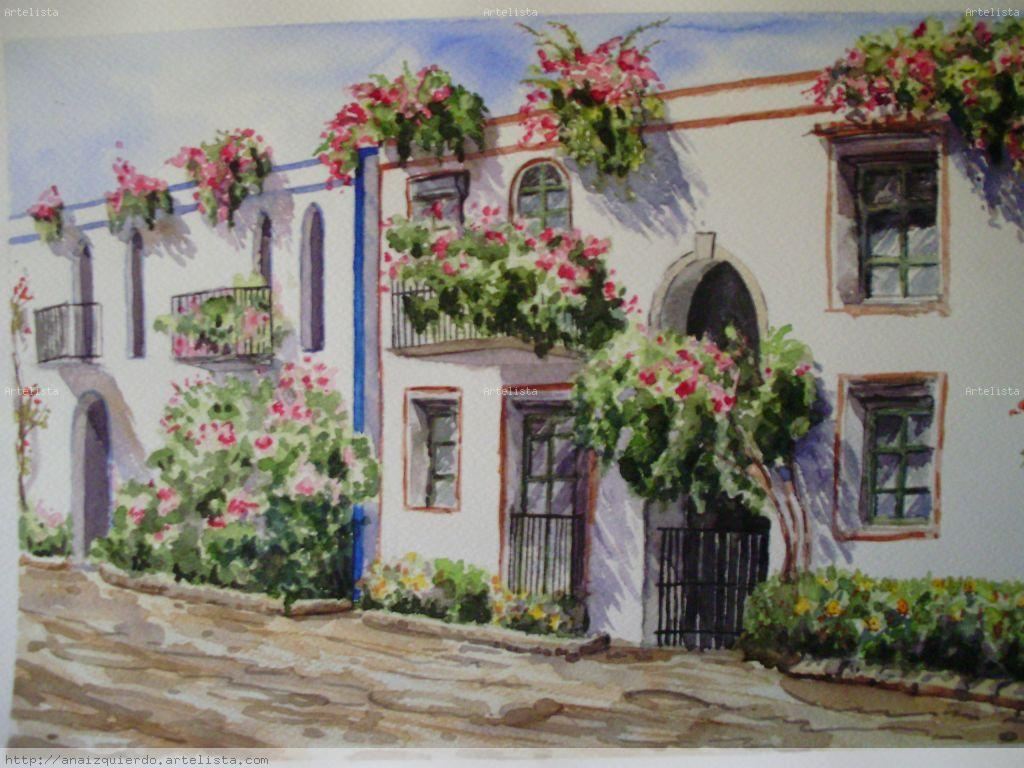 Balcones con flores anamar a izquierdo gonzalez for Balcones decorados con plantas