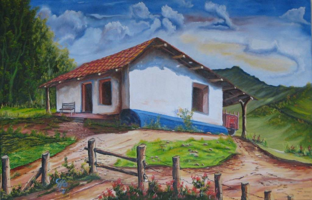 A orada casa luis roberto hern ndez alfaro for La casa de las pinturas