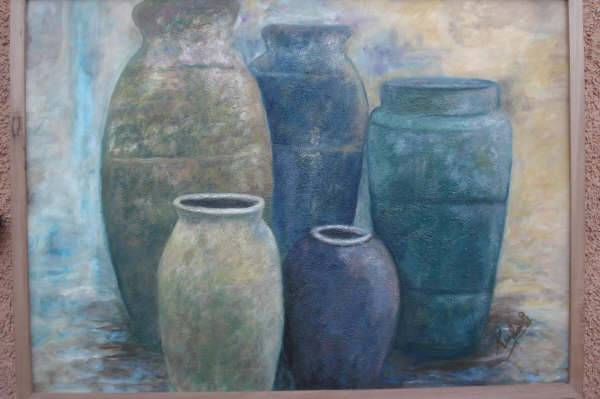 Jarrones de ceramica karen qui ones escobar - Jarrones de ceramica ...