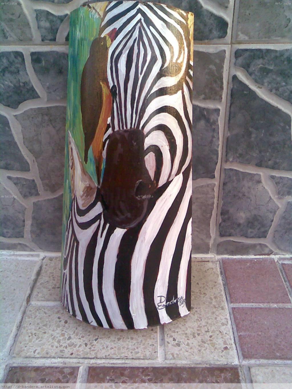 Cebras paqui doblas bandera - Cuadros de cebras ...