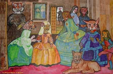 Cuadros De Las Meninas. Cool Cool Menina Colores With Cuadros De Las ...
