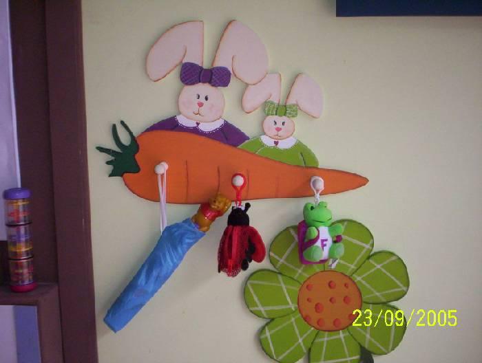 Conejos Decoraci  N Muebles Y Objetos De Madera