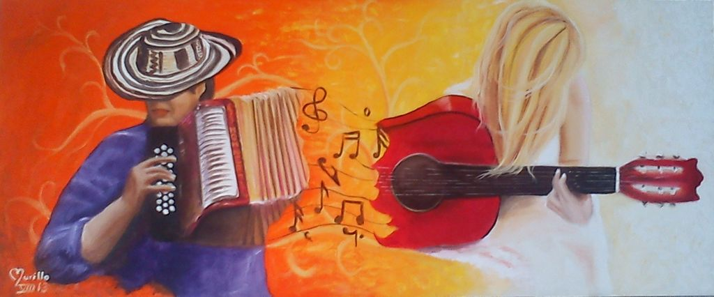 Worksheet. Vallenato con Guitarra y Acorden Dewins Murillo  Artelistacom