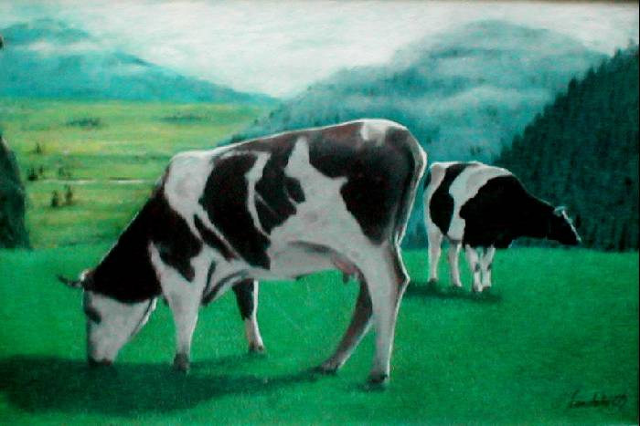 Vacas alberto londo o - Cuadros de vacas ...