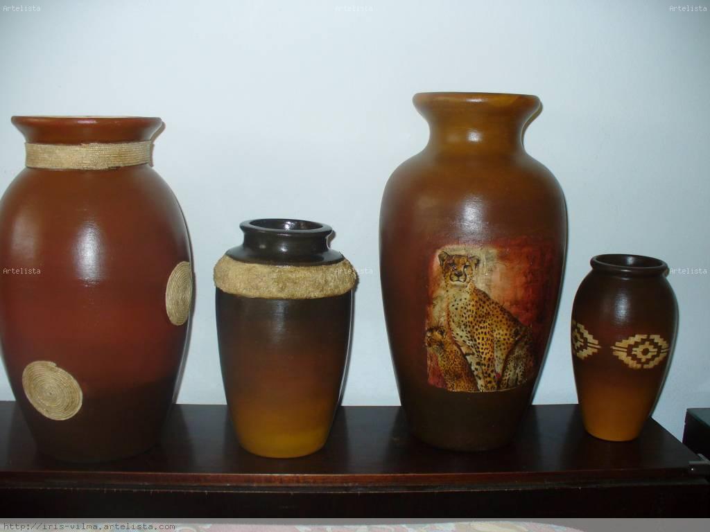 Jarrones iris franeff - Jarrones de ceramica ...
