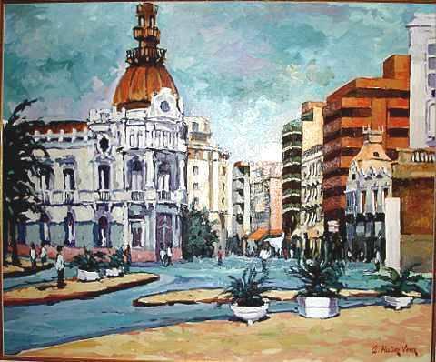 Ayuntamiento de cartagena antonio mu oz vera - Pintores en cartagena ...