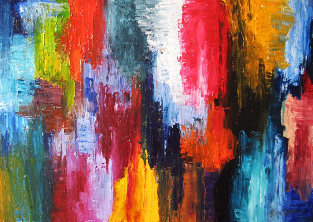 C lidos y fr os beatriz navarro for Imagenes de cuadros abstractos rusticos