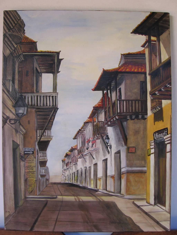 Cartagena tiene alma liliana maria binaghi - Pintores en cartagena ...