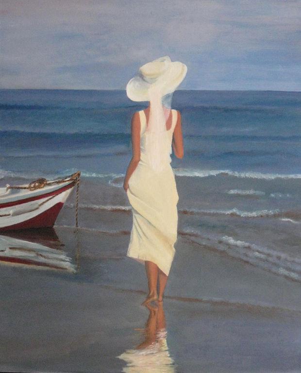 Mirando El Mar María Sandoval Artelista Com