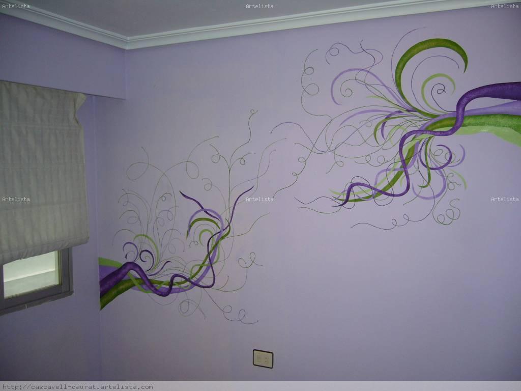 Plantillas perforadas para pintar en paredes - Plantillas para paredes ...
