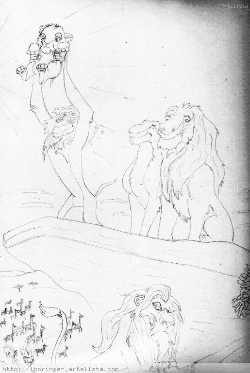 El Rey León - Disney Inma Horinger - Artelista.com