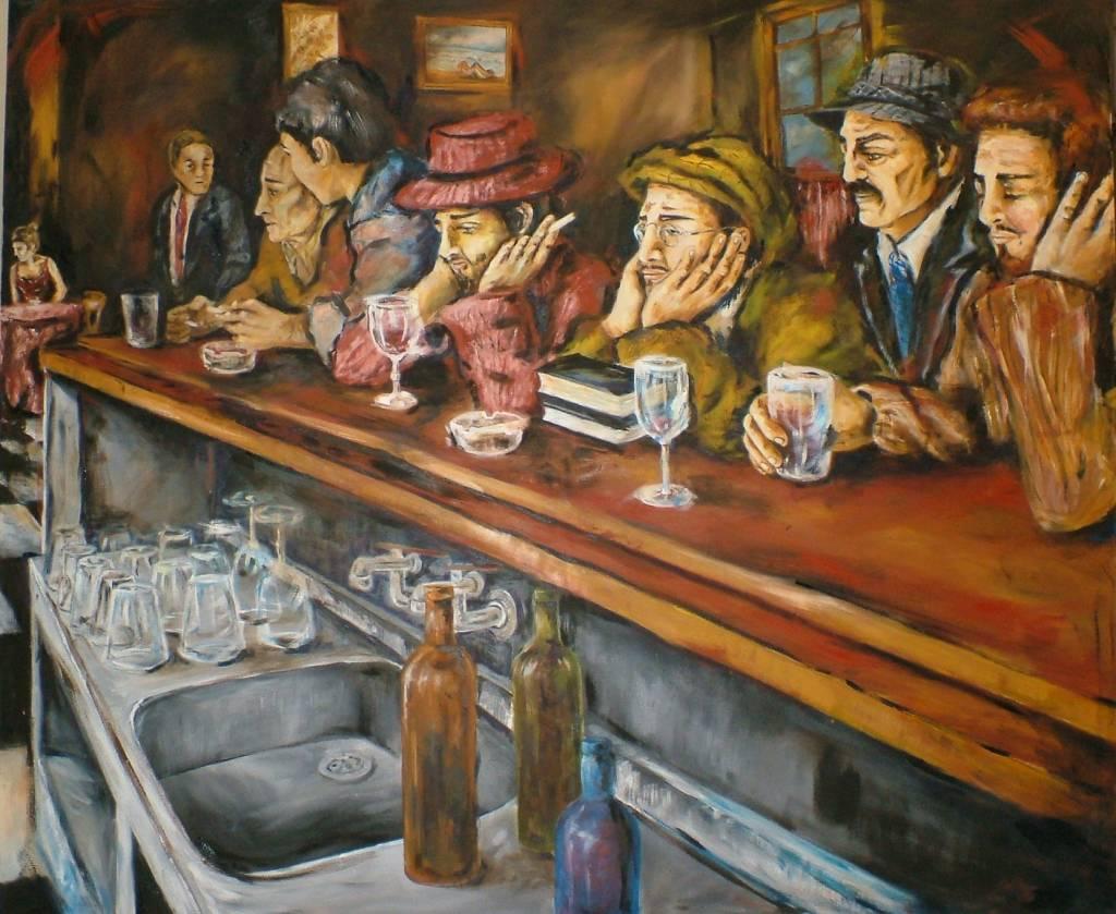 En el bar betina paola portolesi - Cuadros para bares ...